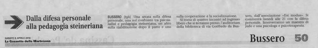 Gazzetta della Martesana, Sabato 19 Aprile 2016